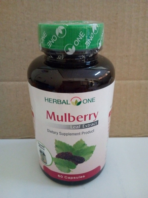 Mulberry Leaf Extract Capsules high calcium and antioxidants  60 capsules