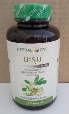 Moringa Oleifera dried leaves control of high blood pressure  100 capsules