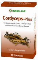 Cordyceps Plus una reducción del colesterol natural  30 capsules