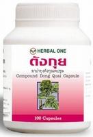 Dong Quai Angelica sinensis voor premenstruele en menopauze  100 capsules