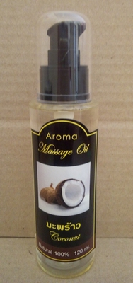 Oleo de massagem aromatico coco 120ml