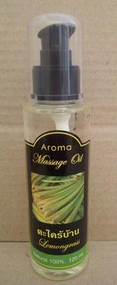 Aroma massage olie citroengras 120ml