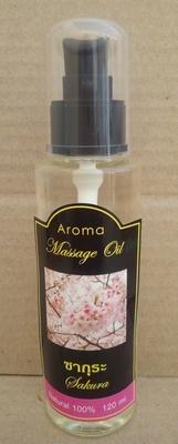 Aroma massageoele Sakura 120ml