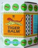 Tiger Balsam Weiß Massage balsem 30 Gramm Glas