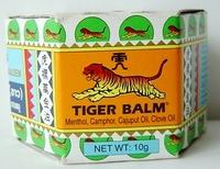 Tiger Balm massage balsem white 10 gram jar