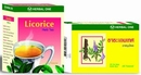 Licorice herbal tea (Glycyrrhiza glabra) Herbal one 40 bags