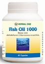 Fischöl 1000 mit Omega-3 senkt den Cholesterinspiegel 60 capsules
