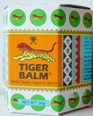 Tiger Balm massage balsem white 30 gram jar