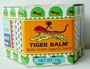 Tiger Balm massage balsem white 10 gram jar