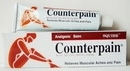 Counterpain Analgesic Balm Warm relieve muscle pain 120 Gram