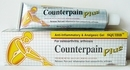 Counterpain Plus Analgesic Gel relief inflammation pain 50 gram
